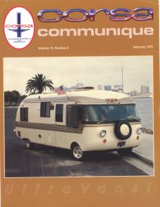 CORSA Communique Cover vol15, number 3