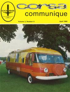 Communique Cover April 1980