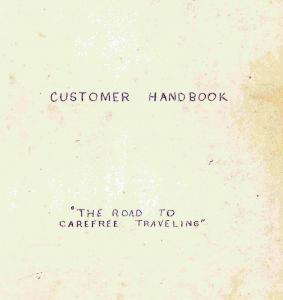 Customer Handbook Cover