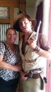 Cyndi and gunfighter