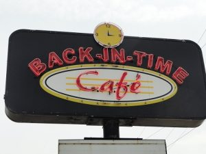Eastern Rally Back-in-Time Restaurant Sign
