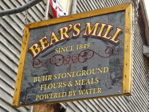 Eastern Rally Bear's Mill sign