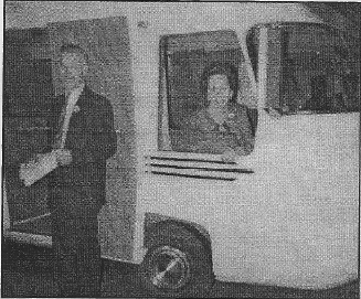 Dave and Lucille Peterson at a premier showing of #201, which was the second unit built. Photo taken in 1962