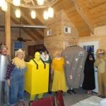 Wizard of Oz costumed group