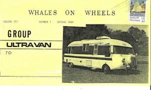 Group Ultra Van Whales on Wheels newsletter logo
