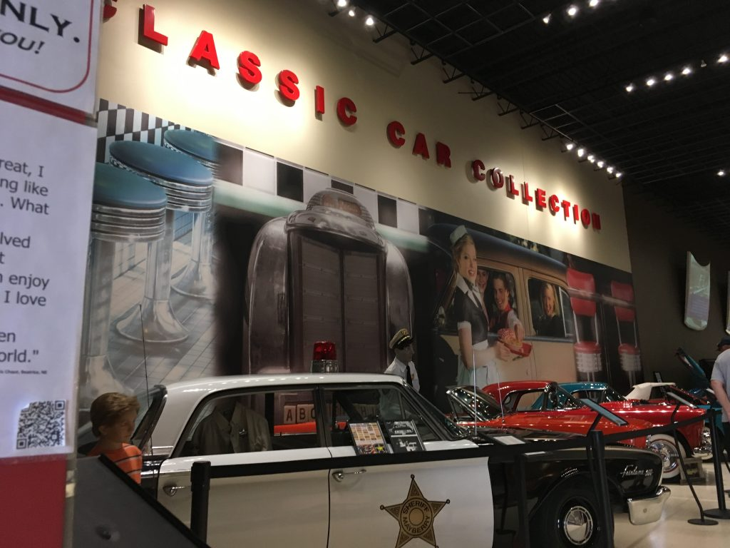 museum car display 30