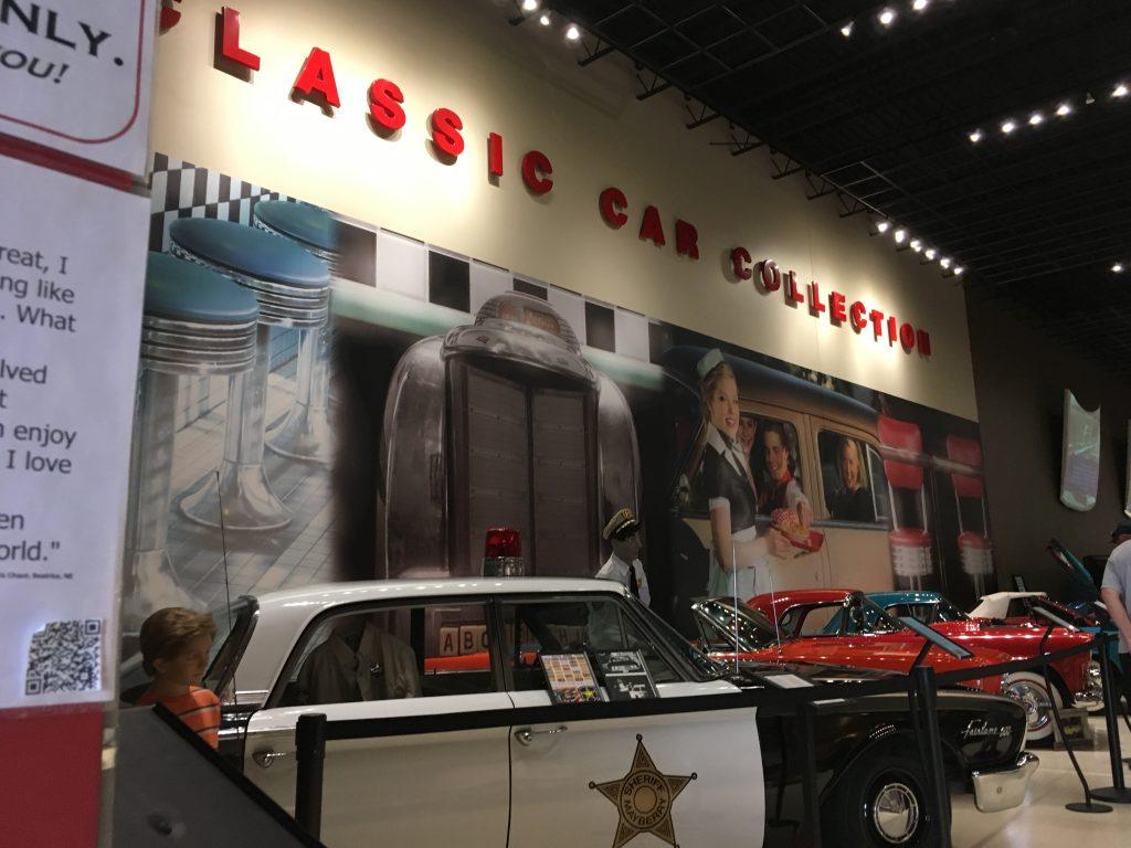 museum car display 30