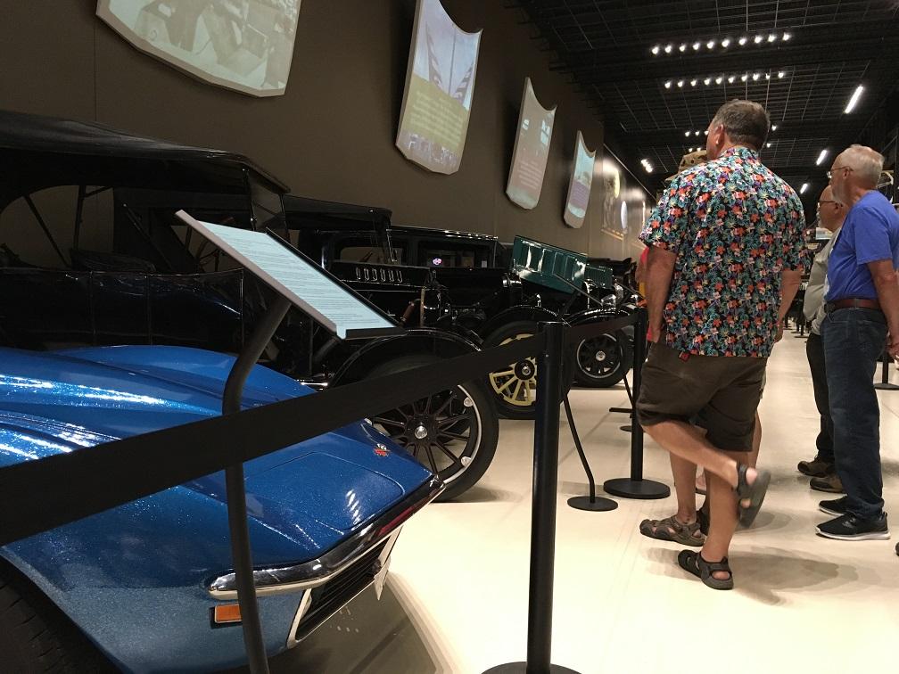 museum car display 28