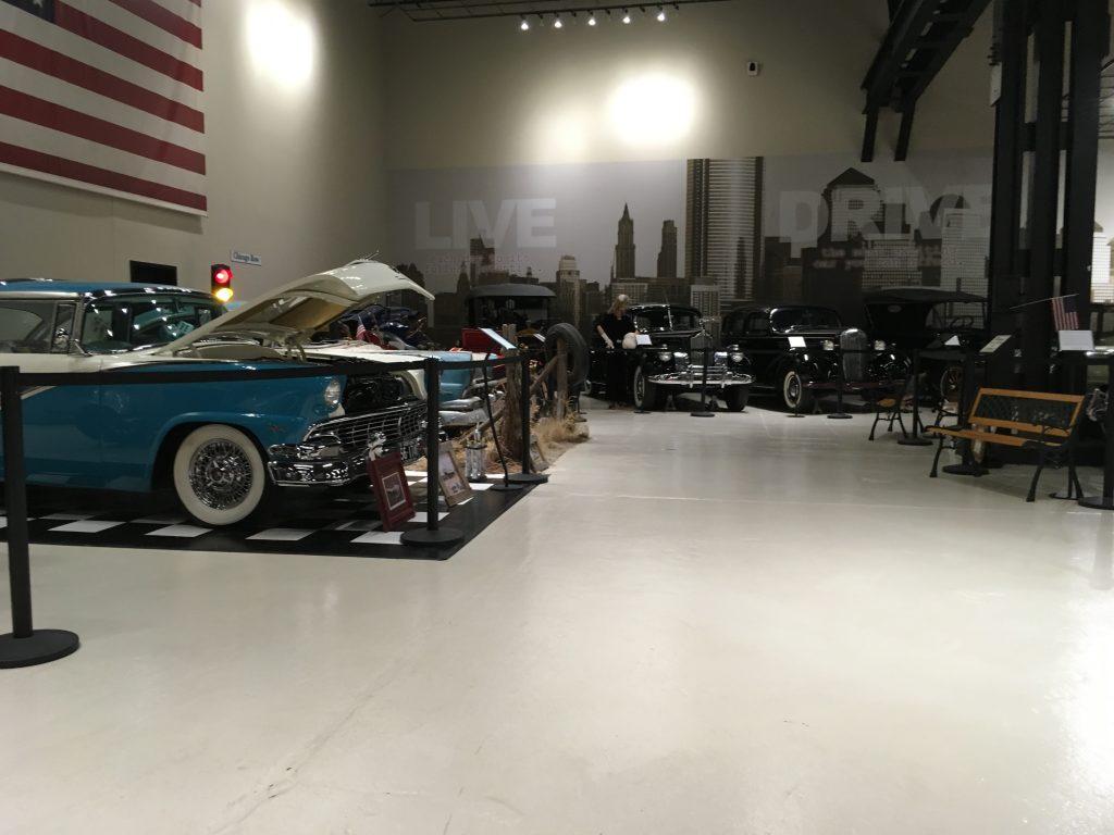 museum car display 27