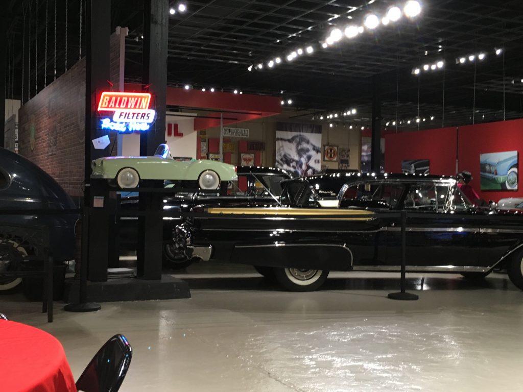 museum car display 25