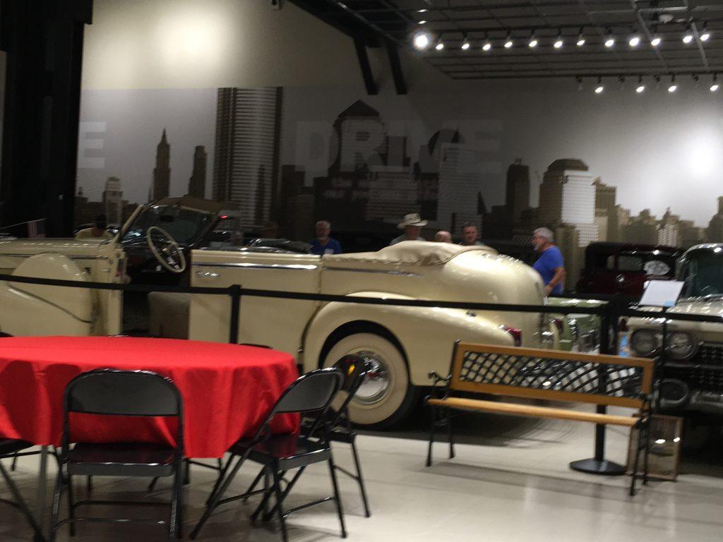 Museum cars