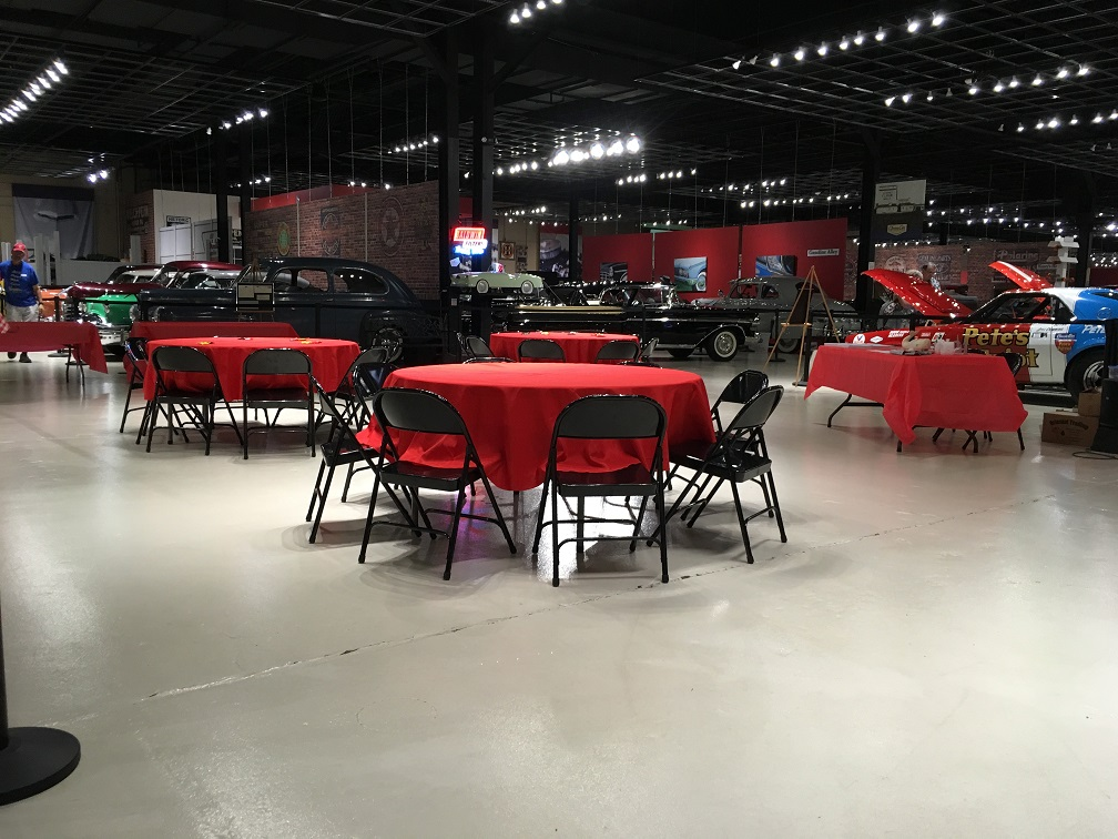 2019 Rally Banquet tables