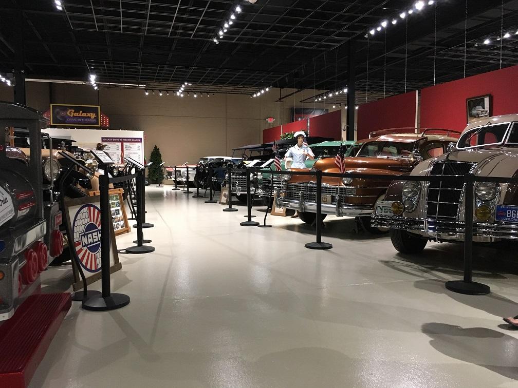 museum car display 13