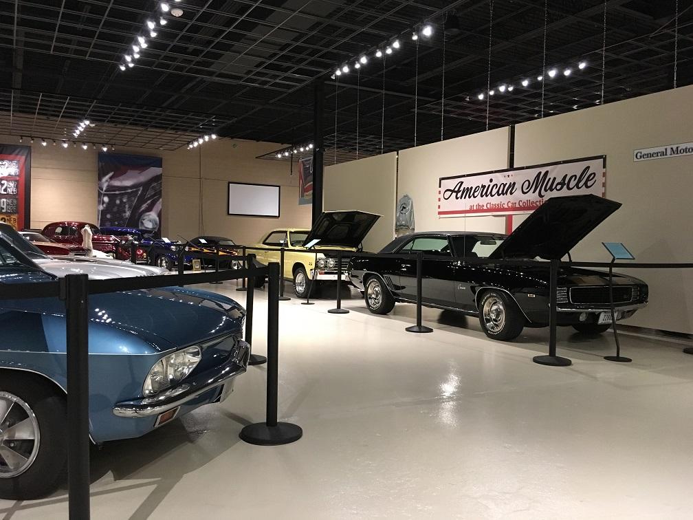 museum car display 10