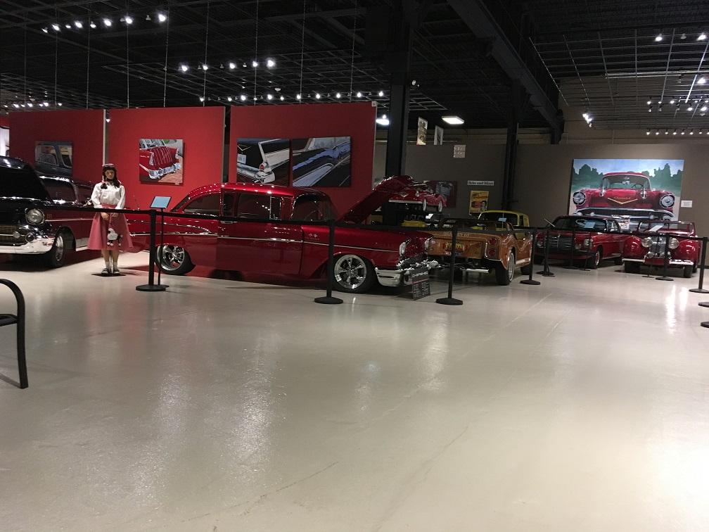 museum car display 9