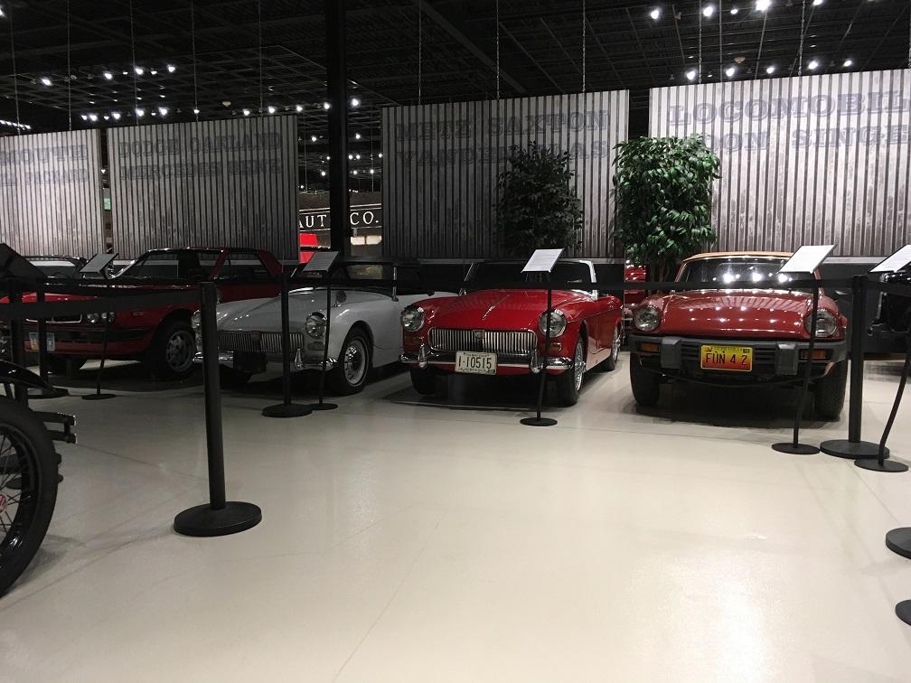 museum car display 4
