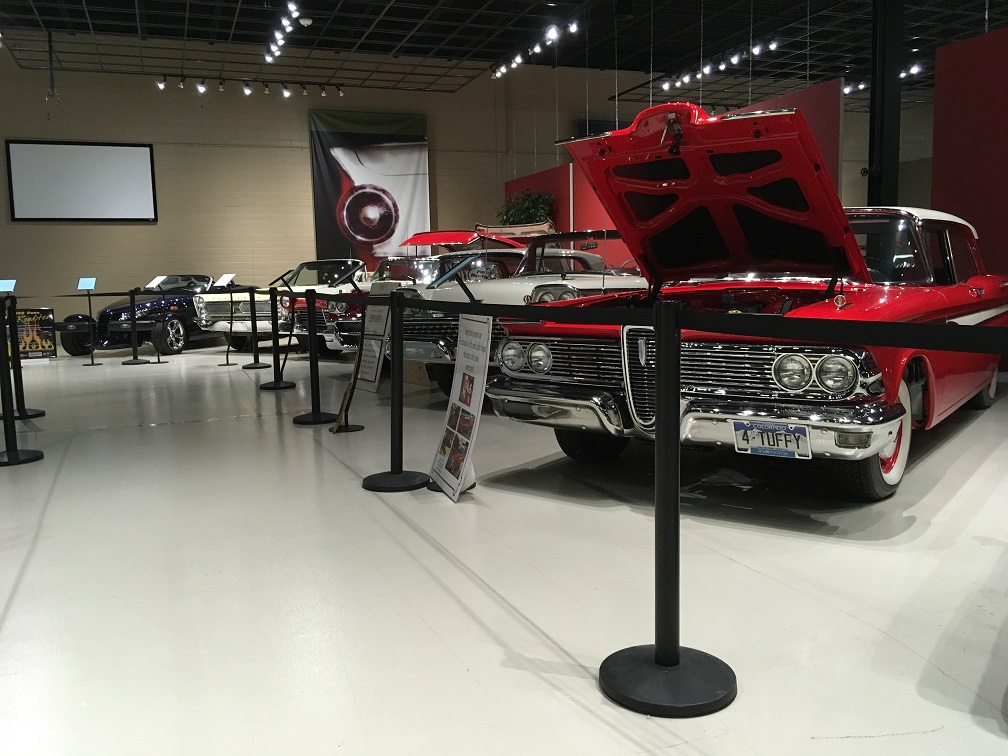 museum car display 3