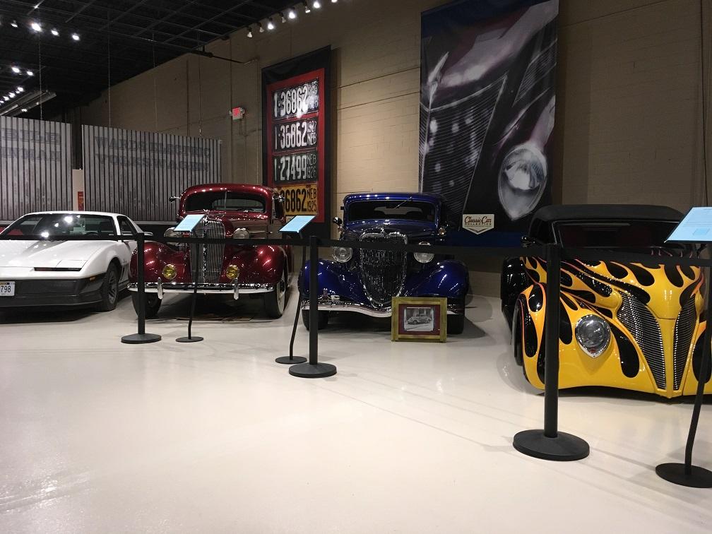 museum car display 2