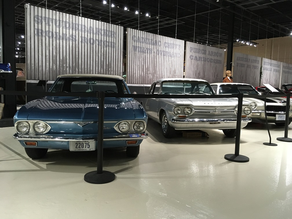 Museum Corvairs