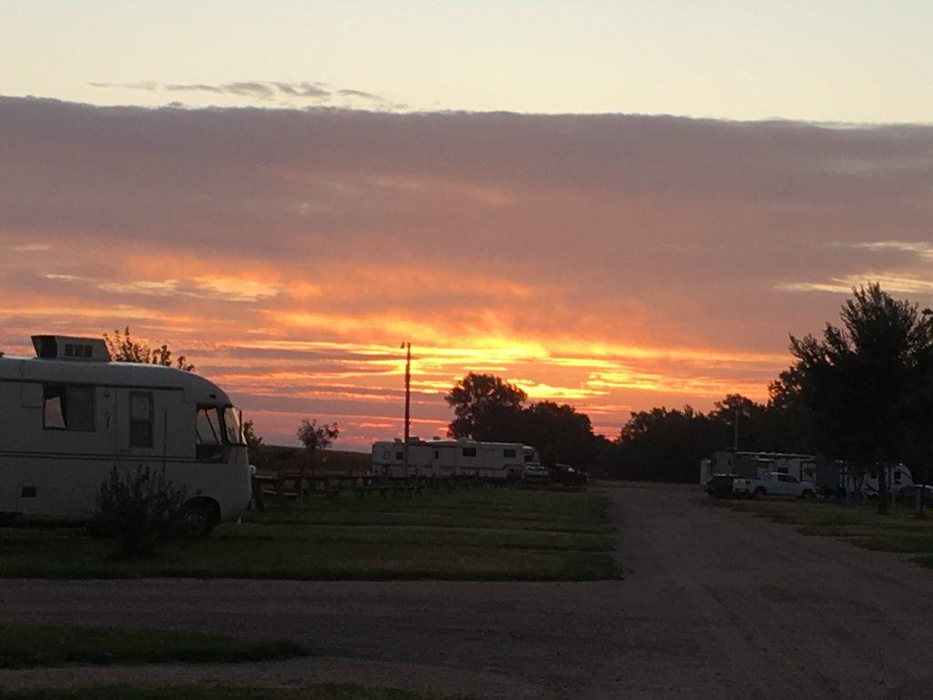 A couple of sunrises