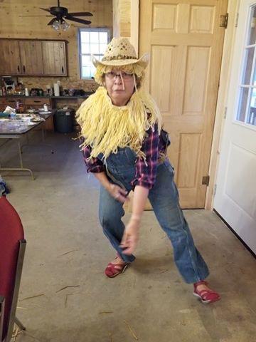 Olga scarecrow