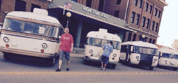 Downtown Hutchinson Ultra Van show 2