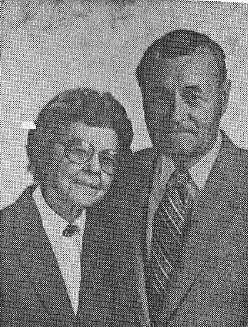 Ernest and Edna Newhouse in later years photo