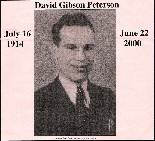Dave Peterson obituary date and picture