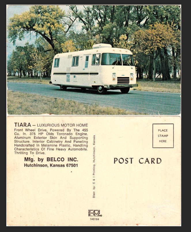 Tiara Postcard