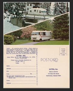 V8 Tiara Postcard