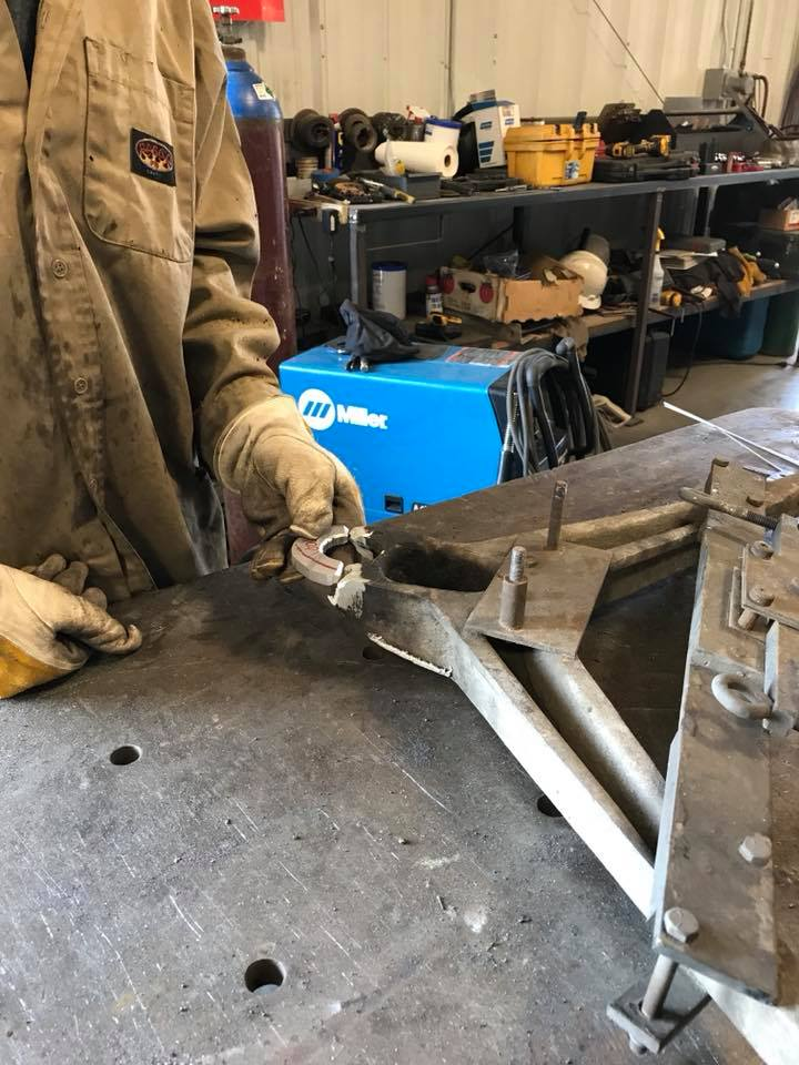 rally a-arm repair