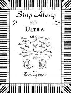 Sing Along with Ultra Songbook Cover