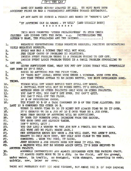 Its the Law 1981-4 newsletter