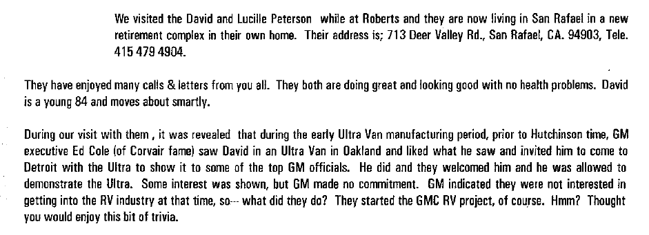 Jim Craig comments UltraSounder 2000-2
