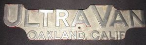 Oakland name plate