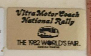 1982 Worlds Fair badge
