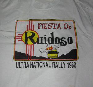 1989 Ruidoso shirt