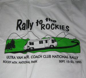 1993 Estes Park shirt