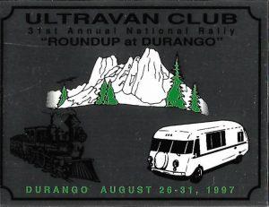 1997 Durango badge