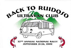 1999 Ruidoso badge