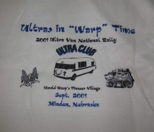 2001 Minden shirt