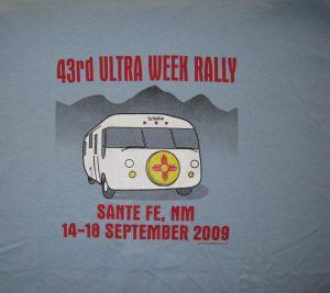 2009 Santa Fe shirt