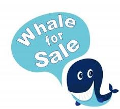 Whale for sale