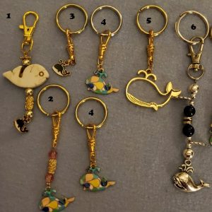 Keychains/Zipper Pulls