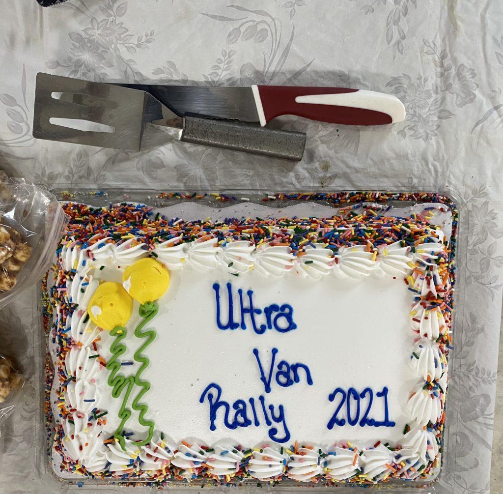 2021 Central Rally Cake